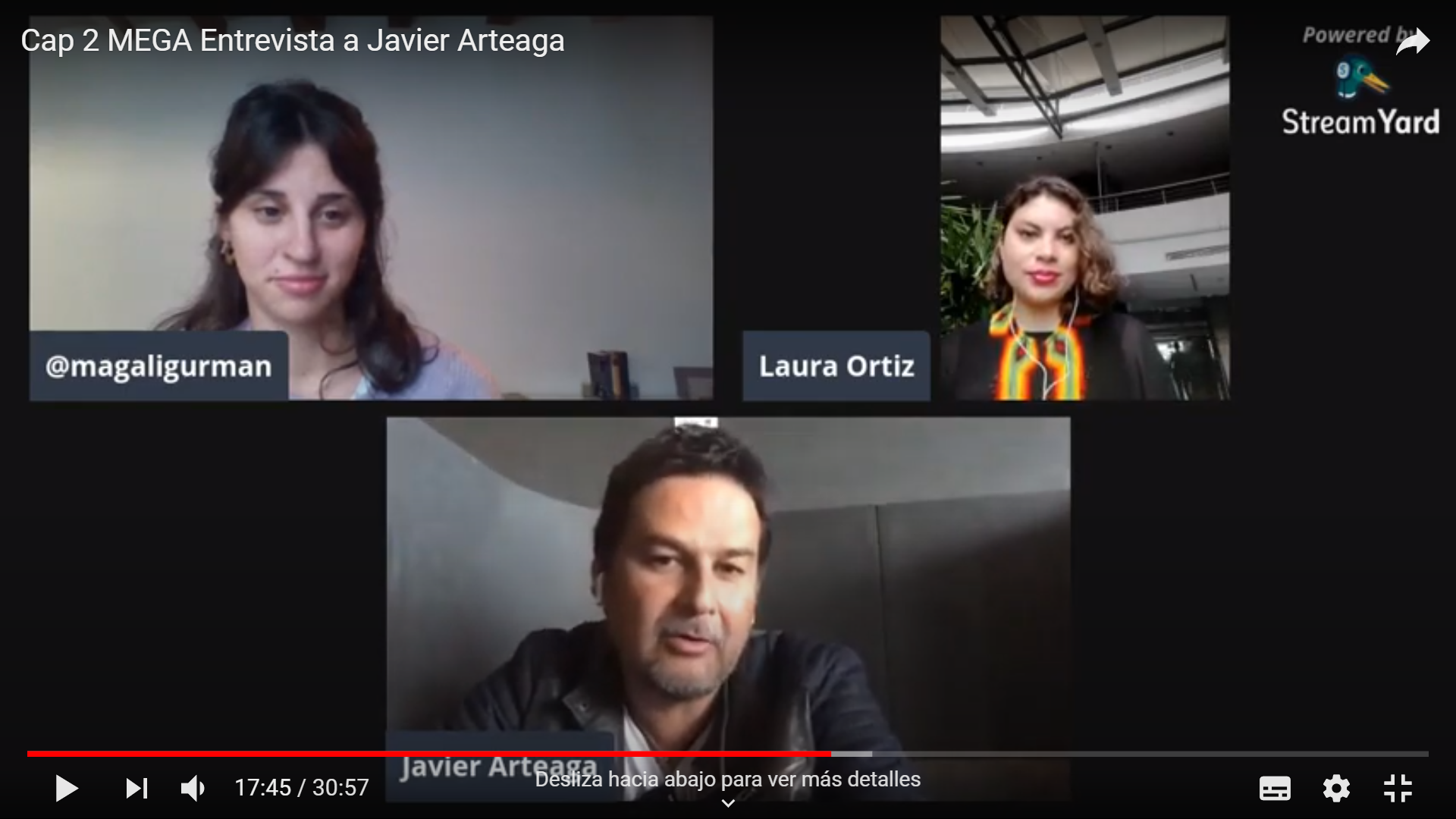 #MedirelGobiernoAbierto Entrevista con Javier Arteaga