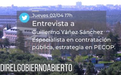 #MedirelGobiernoAbierto en contratación electrónica con Guillermo Yañéz