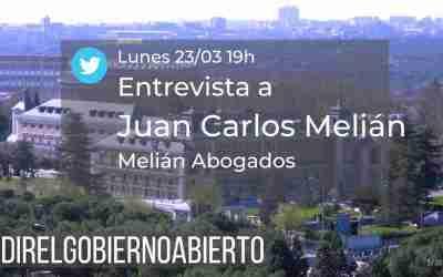 #MedirelGobiernoAbierto en compras y contrataciones con Juan Carlos Melián
