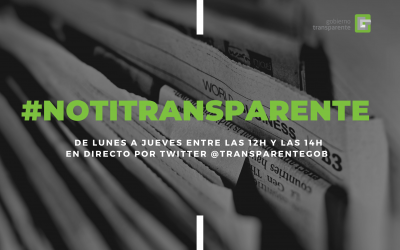 NotiTransparente, semana 15/19 marzo