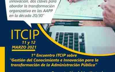 Primer Encuentro ITCIP 11 y 12 de marzo